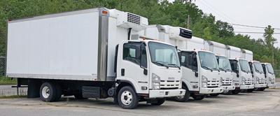 isuzu vans van trucks